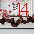 """XOXO"" Valentine's Frames 6"