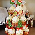 """Cupcake Tree"" Toppers-Pebbles Design Team"