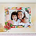 """""""Framed Spring Floral"""" (Dear Lizzy by American Crafts)"""
