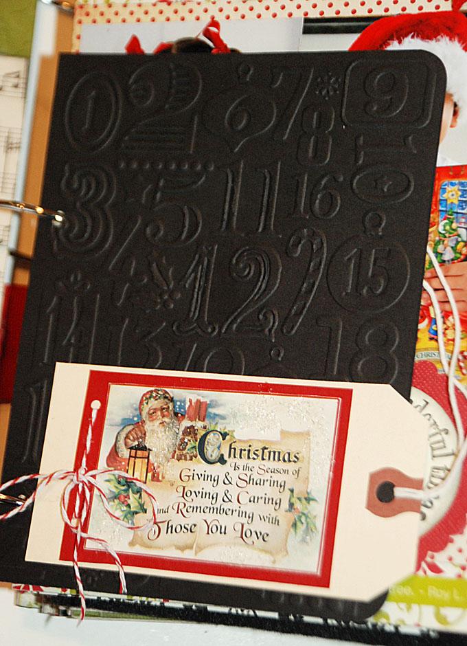 Decemberdailyembossedcard