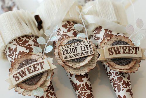 Sweet Paper Cones