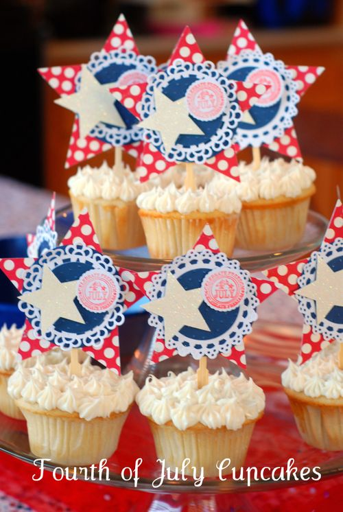 Fourth of July Cupcakes (2010)