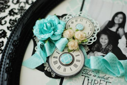detail of Mother's Day Frame