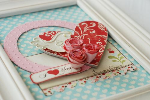 """XOXO"" Valentine's Frames 3"