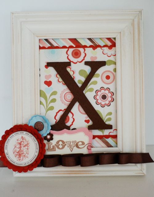 """XOXO"" Valentine's Frames 1"
