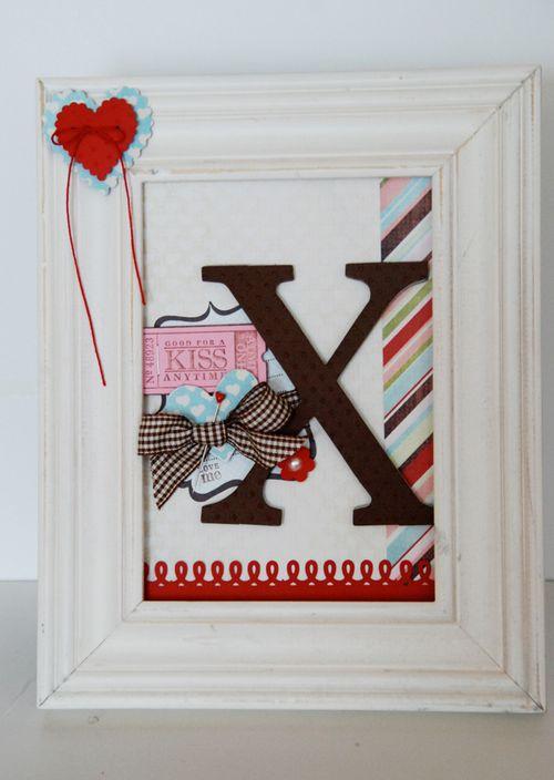 """XOXO"" Valentine's Frames 4"