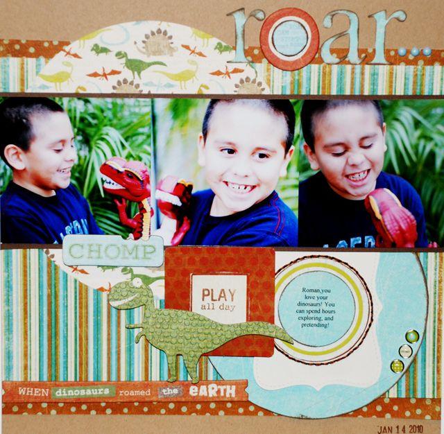 """""""Roar"""" My Mind's Eye 3 Photos Blog Challenge"""